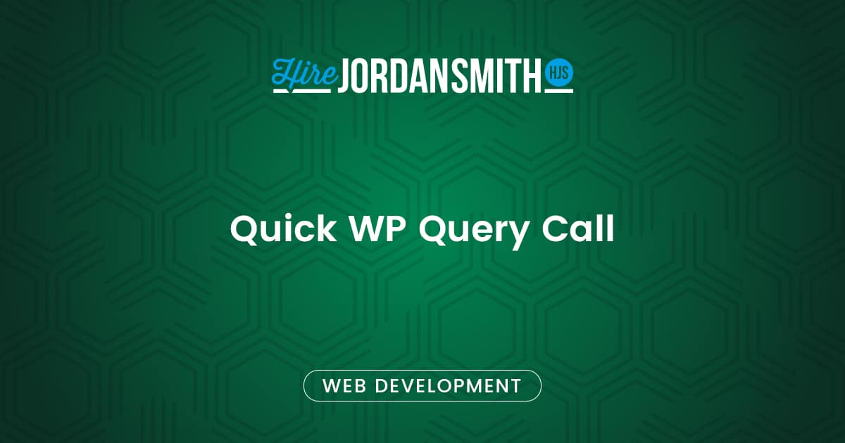 quick-wp-query-call