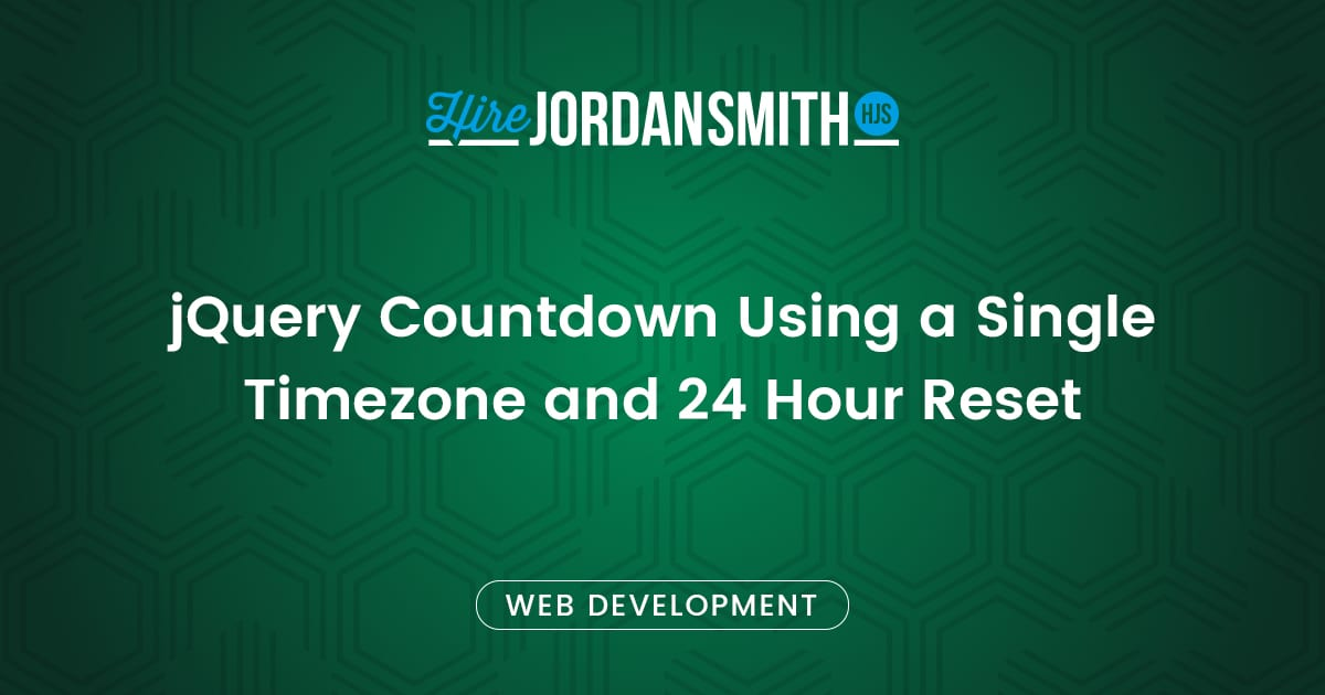 jquery-countdown-using-a-single-