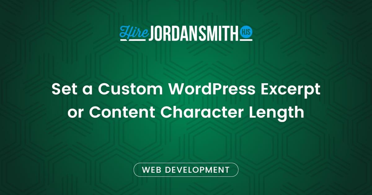set-a-custom-wordpress-excerpt-