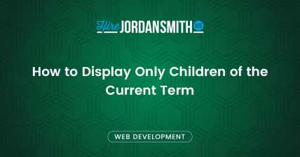 how-to-display-only-children-of-the-current-term