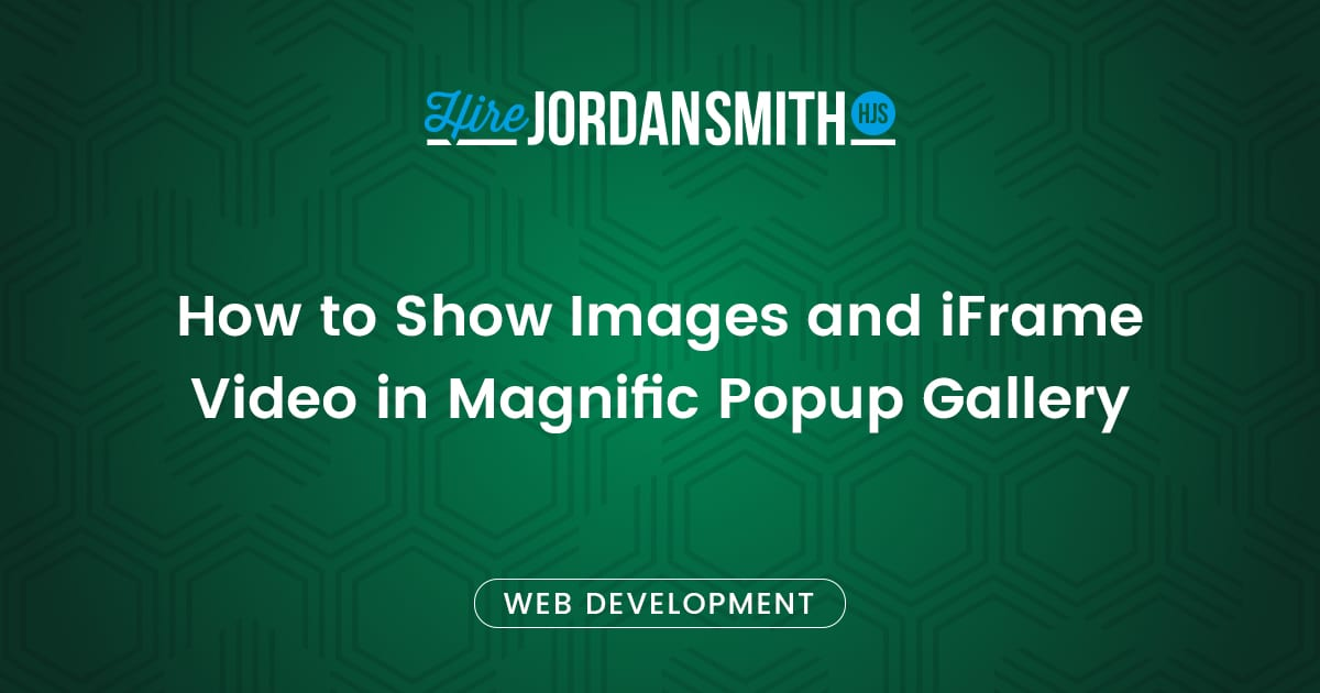 how-to-show-images-and-iframe-video-