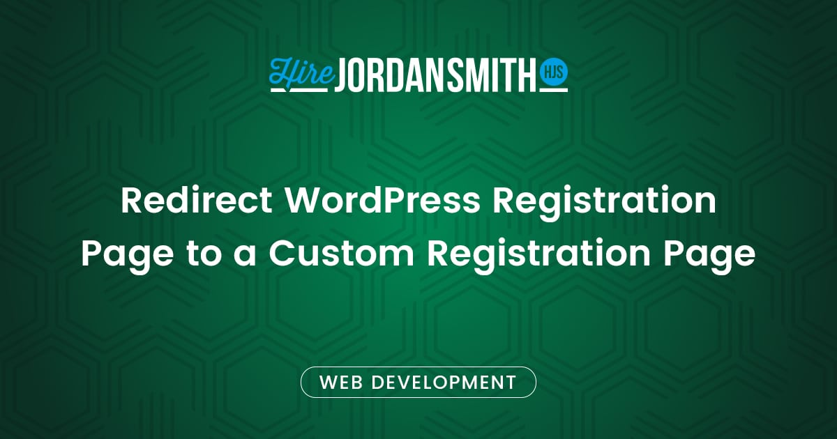 redirect-wordpress-registration-page-to-a-custom-