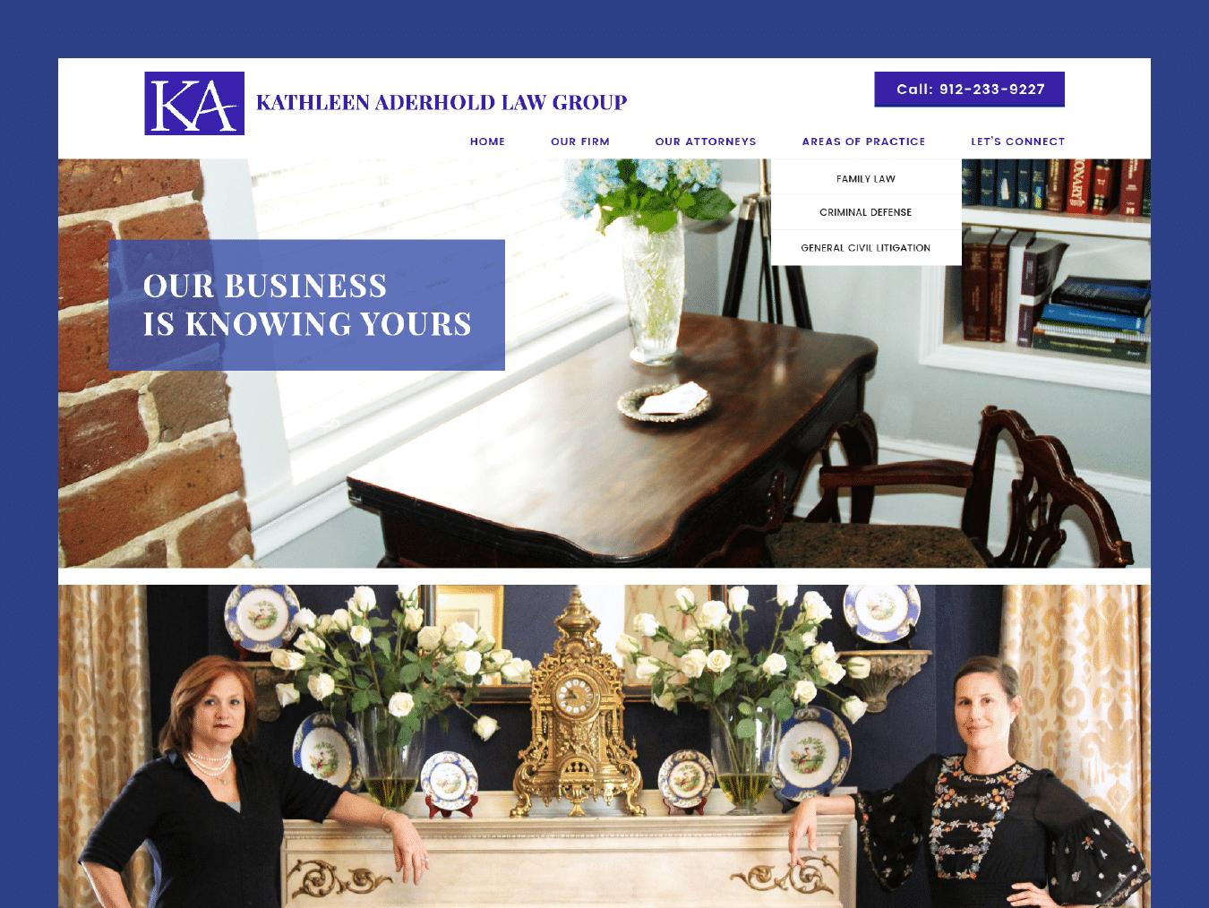 Savannah Website Design 1