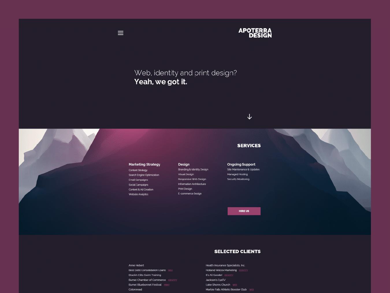 Savannah Website Design 5
