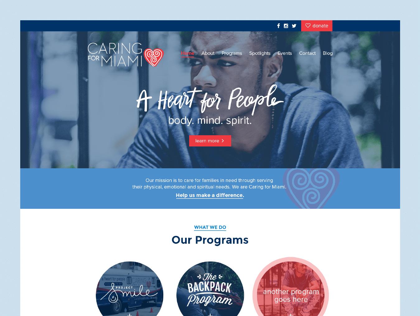 Savannah Website Design 6