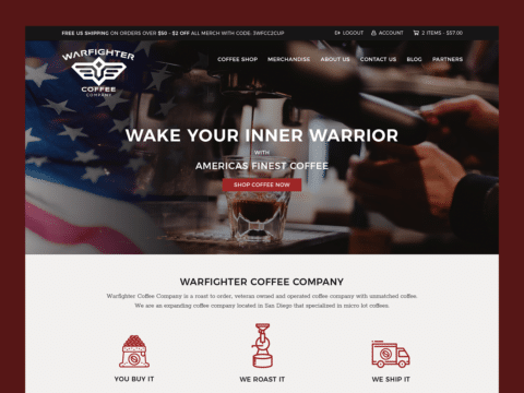 coffee-company-web-design-warfighter-coffee-thumbnail