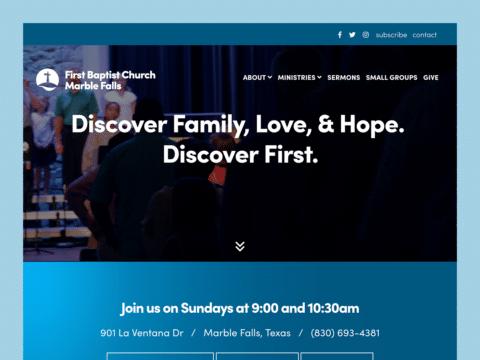 first-baptist-church-web-design-featured