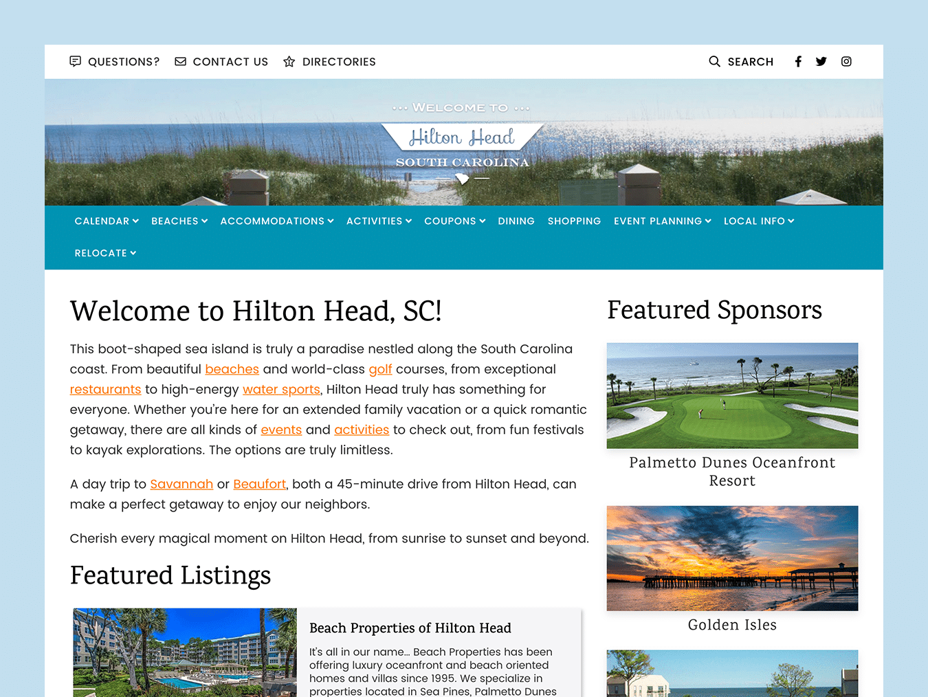 hiltonhead-web-design-featured