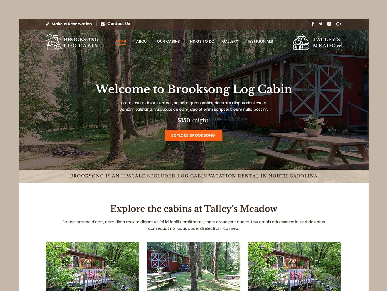 brooksong-log-cabin-web-design-featured