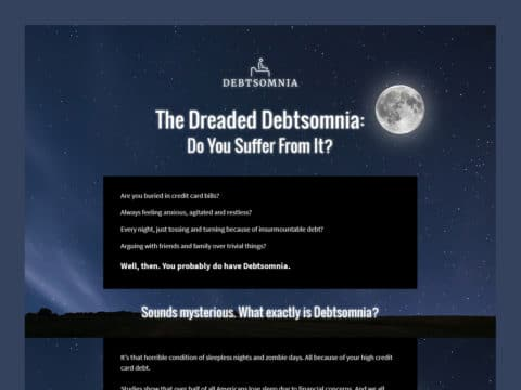 debtsomnia-web-design-featured